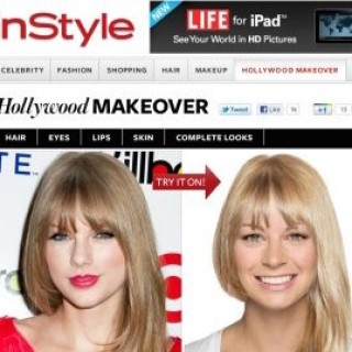 Free Hollywood Hair Virtual Makeover from InStyle