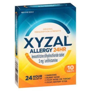 Free XYZAL Allery Relief Sample