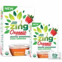 Free Zing Organic Stevia Sweetener Sample