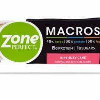 Free Zone Perfect Macros Bar