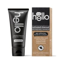 Free hello Activated Charcoal Toothpaste