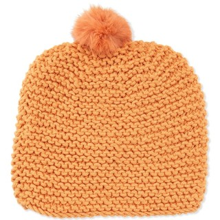 Hat Attack Knit Scully Pom Pom Hat