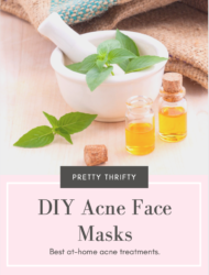 acne face mask graphic
